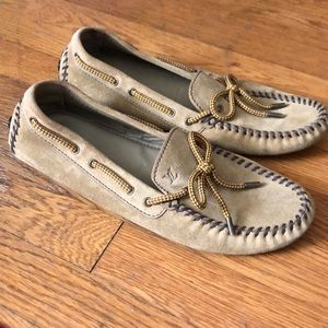 LV driving loafers